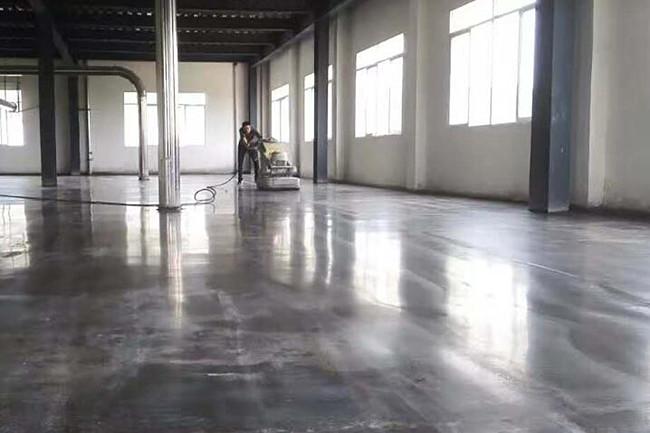 【宜昌】湖北巴蜀生物车间金刚砂地坪硬化、地下车库混凝土地面硬化完工