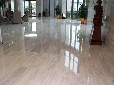 空港晶华酒店石材结晶案例