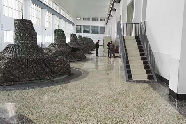 旧水磨石地面翻新——荆州市新滩口水利工程管理处水磨石翻新