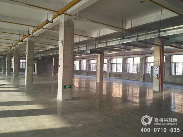 湖北国人康药业仓库混凝土地坪改造